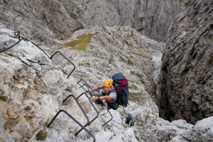 Porton via-ferrata